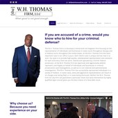 WH Thomas Firm website