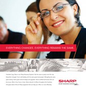 Sharp Business Systems - Newspaper Ad