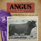 August 2013 Angus Journal cover