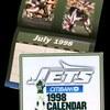 New York Jets 1998 Calendar – National Sports Communications, NYC