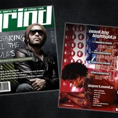 GRIND Magazine - Cover and TOC