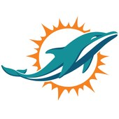 Dolphins primary logo update