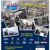 Magazine Ad for Galpin Wholesale Parts Division
