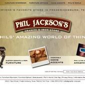Phil Jackson's Granite & Iron Store in Fredericksburg, Texas