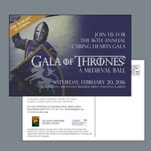 Save the Date Card for PTSCC Gala 2016
