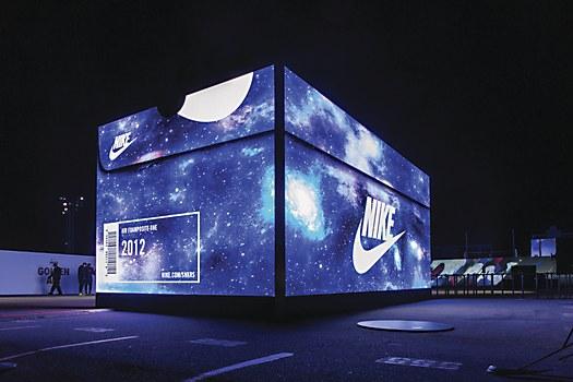 Nike Pop Up Store Communication Arts