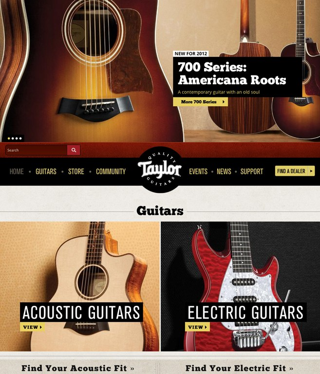 Taylor Guitars   Communication Arts