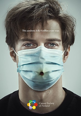 Cancer Society of Finland OOH ads