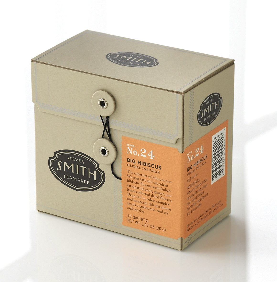 Smith Tea Boxes And Bags Communication Arts