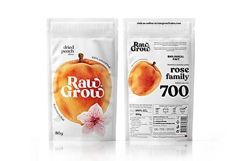 Raw Grow packaging